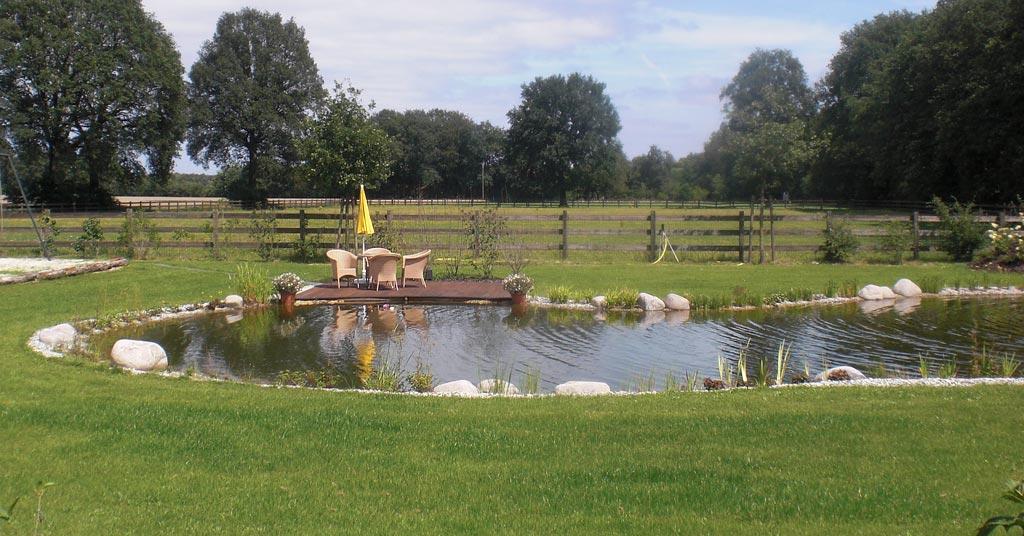 Projekt-Beispiel - Teichanlage -